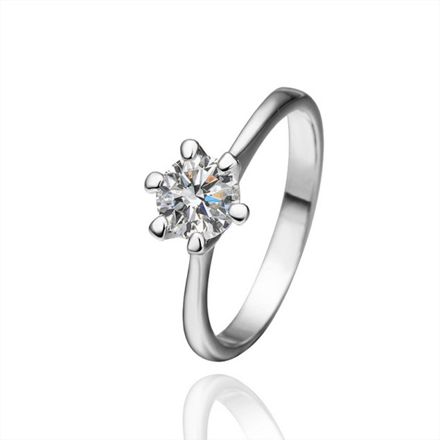 Imitation Diamond Ring with Austrian Crystal