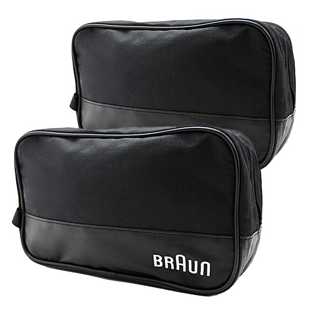 2-Pack: Braun Men's Black Travel Bags