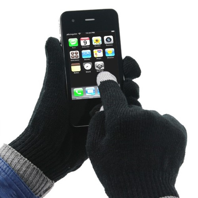 6-Pack Comfy Touch Screen Gloves