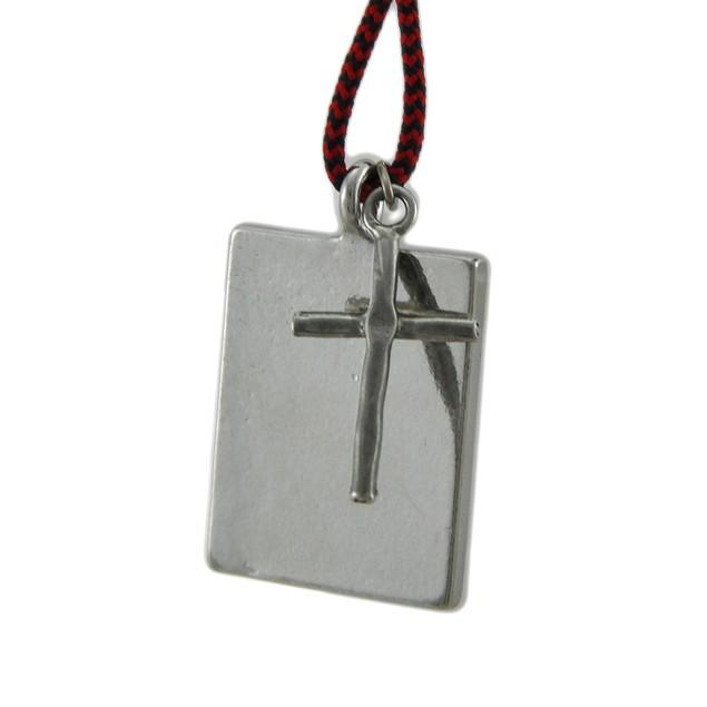 St. Jude Blessed Saint Pendant W/ Cord Necklace Womens Pendant Necklaces