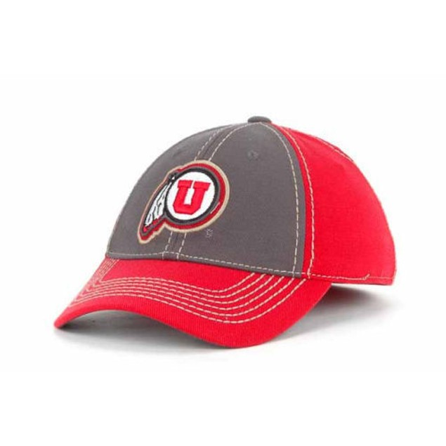 "Utah Utes NCAA TOW ""Guru"" Stretch Fitted Hat"