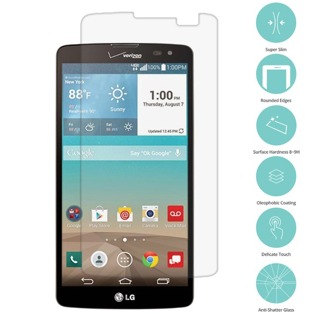 LG G Vista Tempered Glass Film Screen Protector Clear