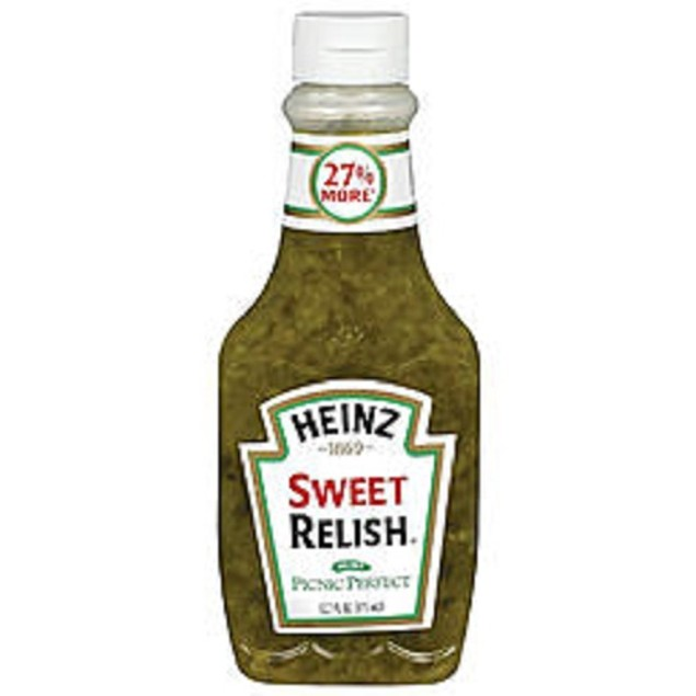 Heinz Sweet Relish Picnic Perfect Squeeze Bottle