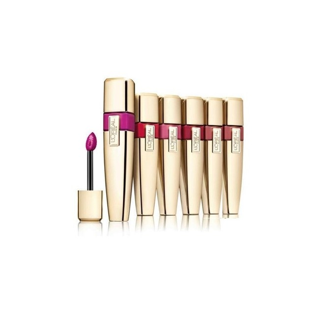 6-Pack Loreal Colour Riche Caresse Wet Shine Lip Stain - Assorted Colors