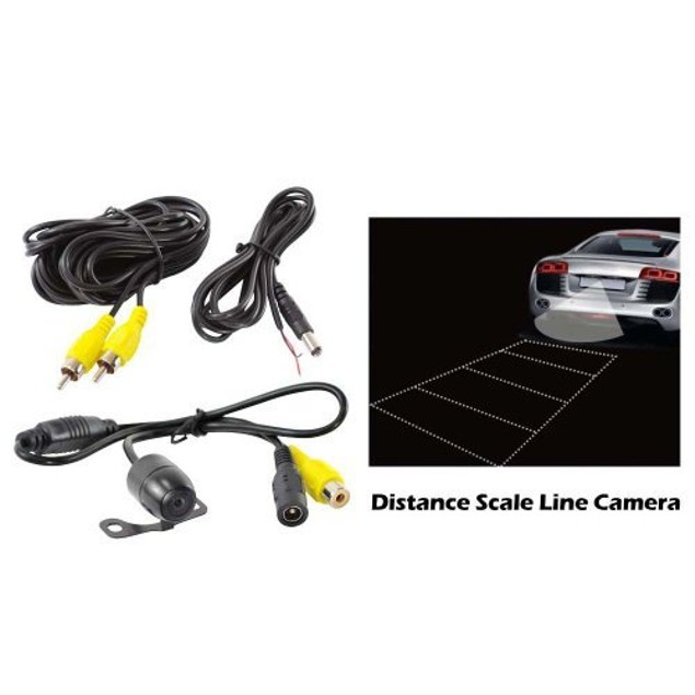 Zone Tech Mount Infrared Commercial Grade Rearview Backup Camera Eye