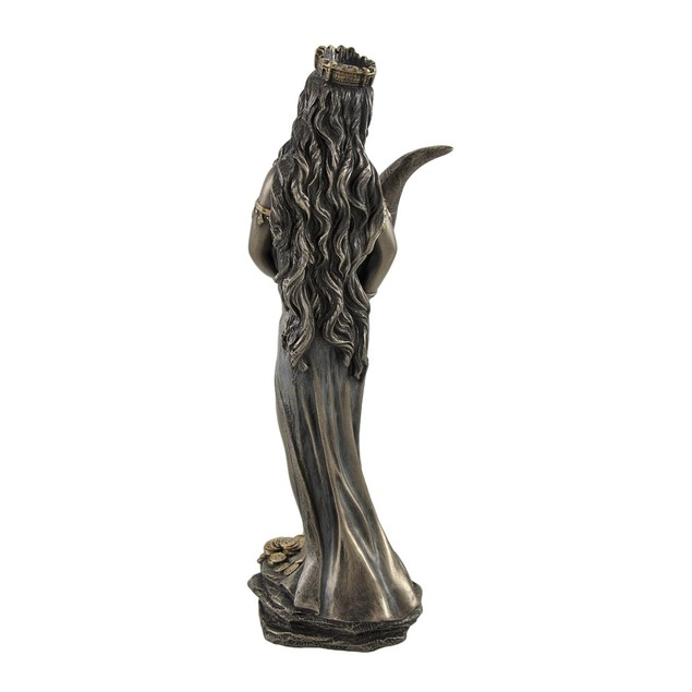 Bronzed Fortuna Roman Goddess Of Fortune Statue Statues