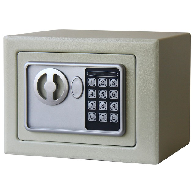 Electronic Deluxe Digital Steel Safe