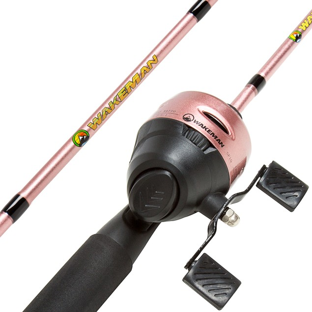 Wakeman Swarm Series Spincast Rod and Reel Combo