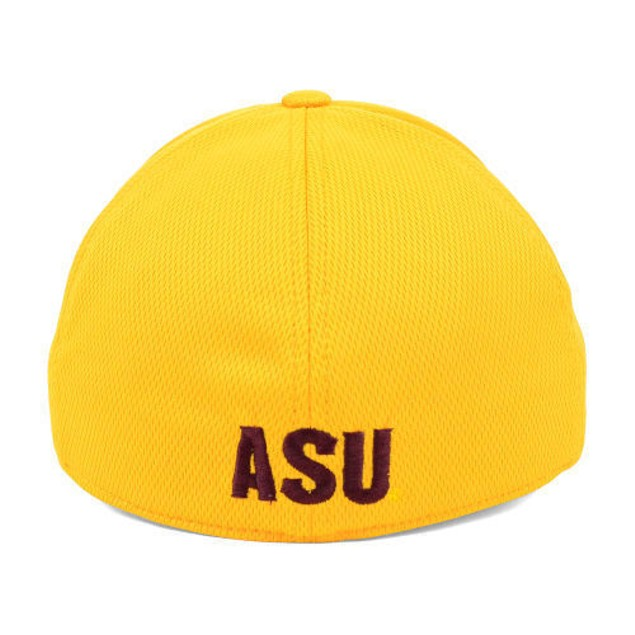 """Arizona State Sun Devils NCAA TOW Yellow """"Booster"""" Memory Fitted Hat"""