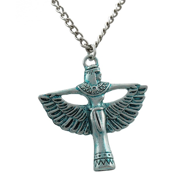 Isis Power Pendant For Protection Of The Earth Womens Pendant Necklaces