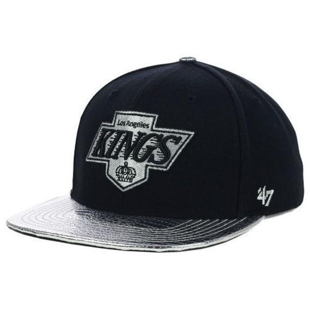 "Los Angeles Kings NHL 47' Brand ""T-Ride"" Flat Bill Snapback Hat"