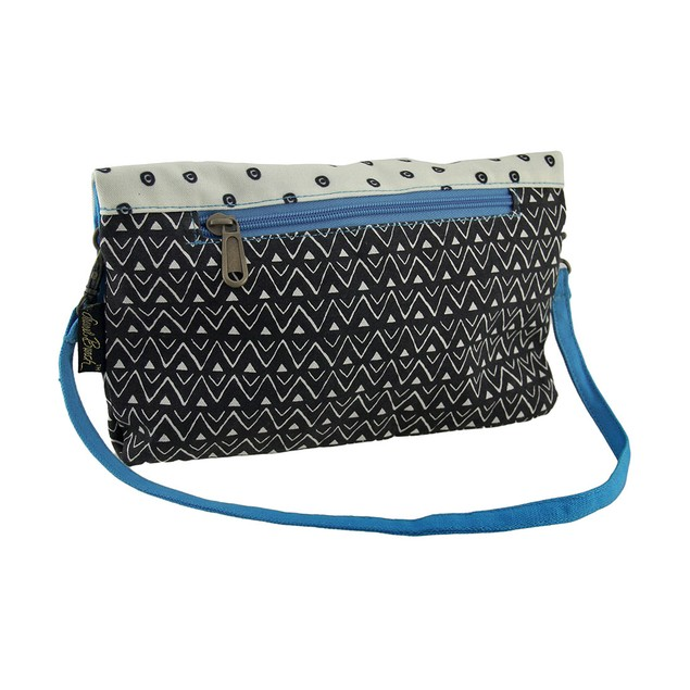 Laurel Burch Polka Dot Gatos Flap Clutch Purse Womens Clutch Handbags
