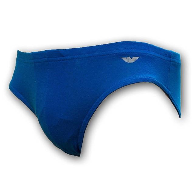 12-Pack: Men's American Active 24/7 Basics Cotton Bikini Briefs