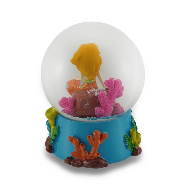 Childrens Colorful Mermaid Water Globe Snow Globes
