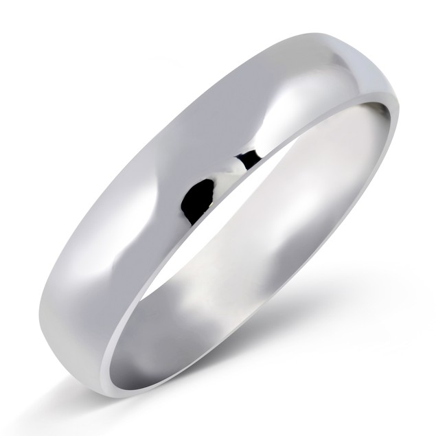 Sterling Silver 3mm Wedding Band
