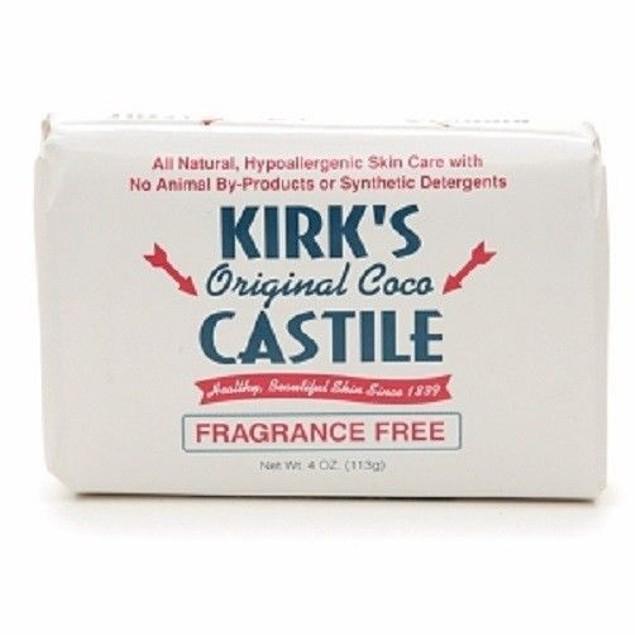 Kirk's Original Coco Castile Hypoallergenic Bar Soap
