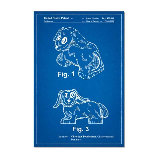 Lego Dog Poster