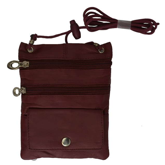 Handcrafted Genuine Leather Crossbody Organizer
