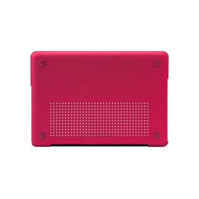 """Incase Raspberry Hardshell Case for 13"""" White Unibody MacBook"""