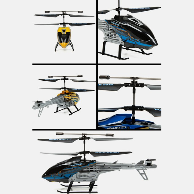 2ch Rex Hercules IR Unbreakable Helicopter