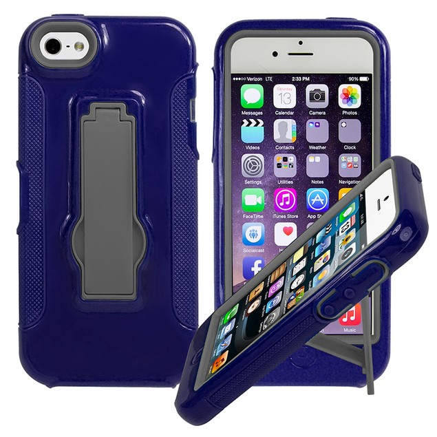 "iPhone 6 Plus 5.5""  Rugged Kickstand Case"