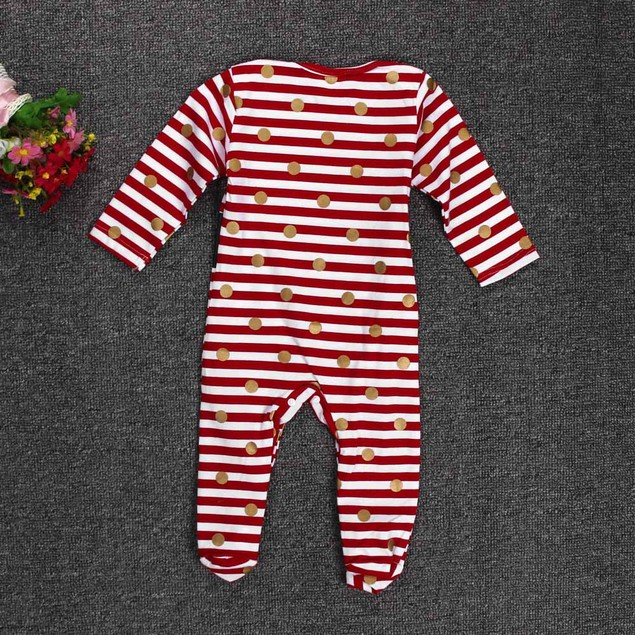 Baby Christmas Romper Jumpsuit Outfit