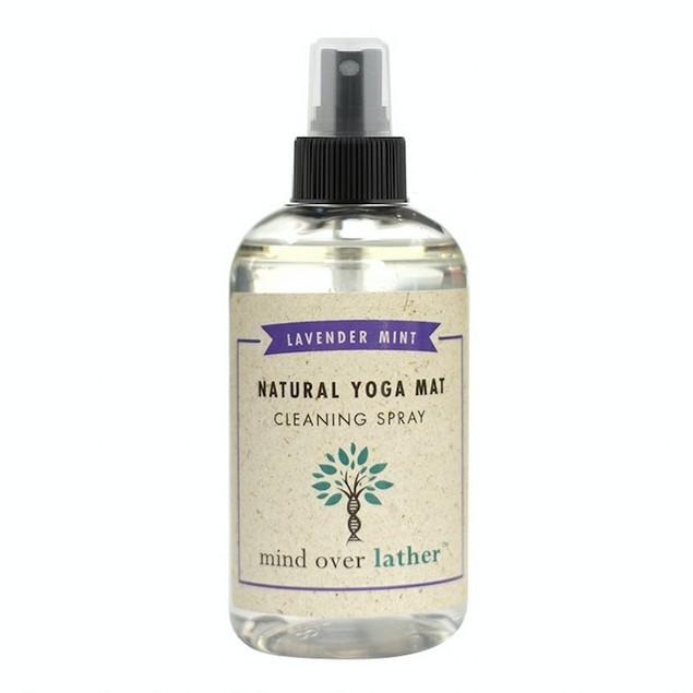 Natural Yoga Mat Cleaner  Lavender-Mint 8oz