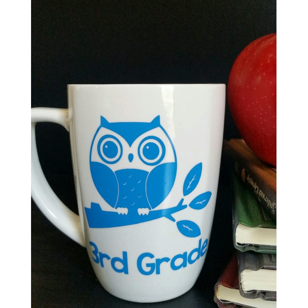 Personalized Owl Teacher Mug