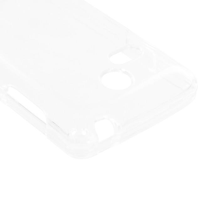 LG Sunrise Lucky L15G L16C Hard Transparent Crystal Case Cover