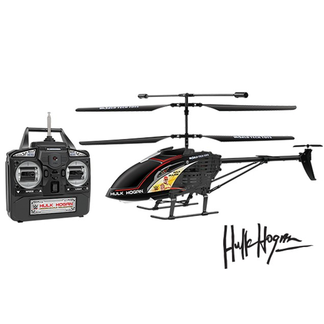 3.5ch Hulk Hogan Unbreakable Remote Control Gyro Helicopter