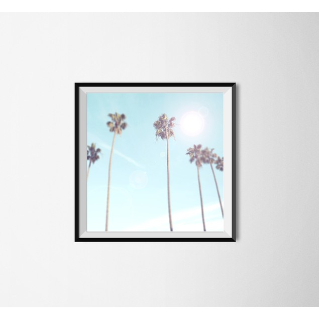Palm + Light Wall Art Printable