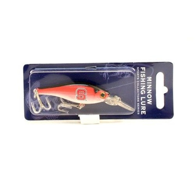 NC State Wolfpack NCAA Minnow Fishing Lure