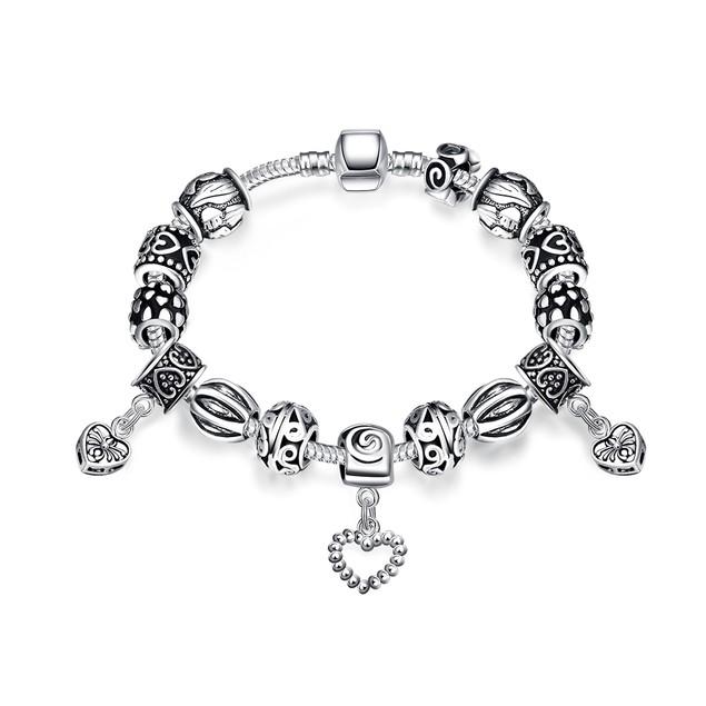 2-Pack Designer Inspired Bead Bracelets