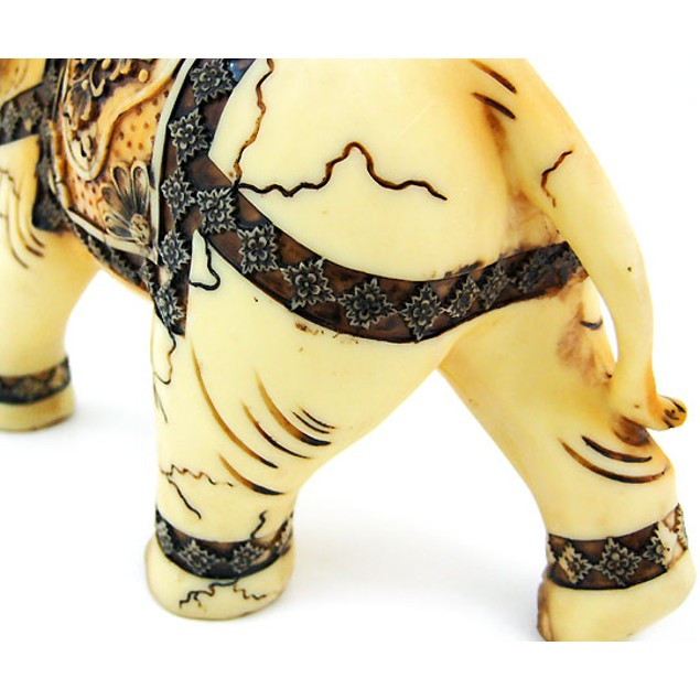 Beautiful Indian Elephant Statue Figure Good Luck Statues
