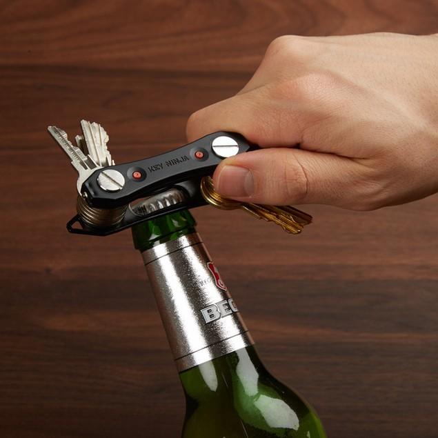 2-Pack Key Ninja Key Organizer with Dual LED Lights