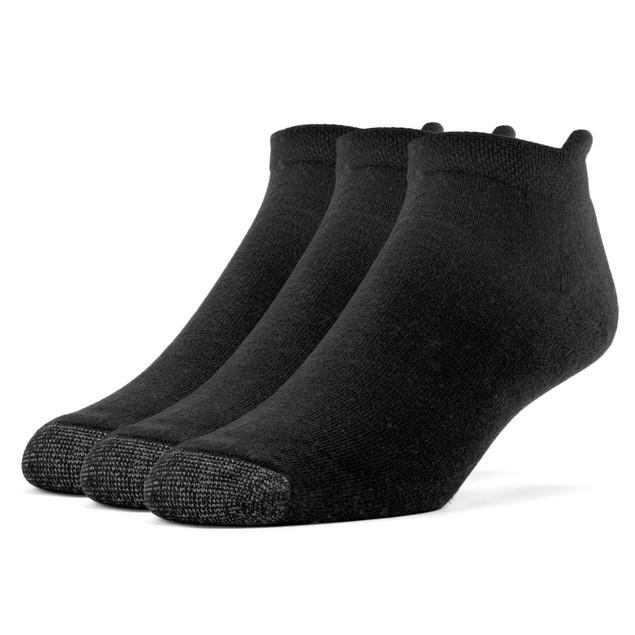 Galiva Women's Cotton Extra Soft No Show Cushion Socks - 3 Pairs
