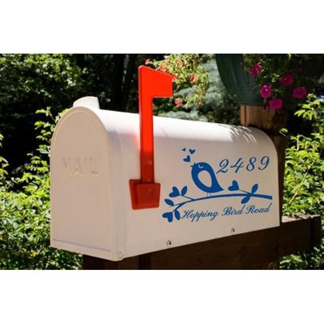 Songbird Vinyl Address Decal