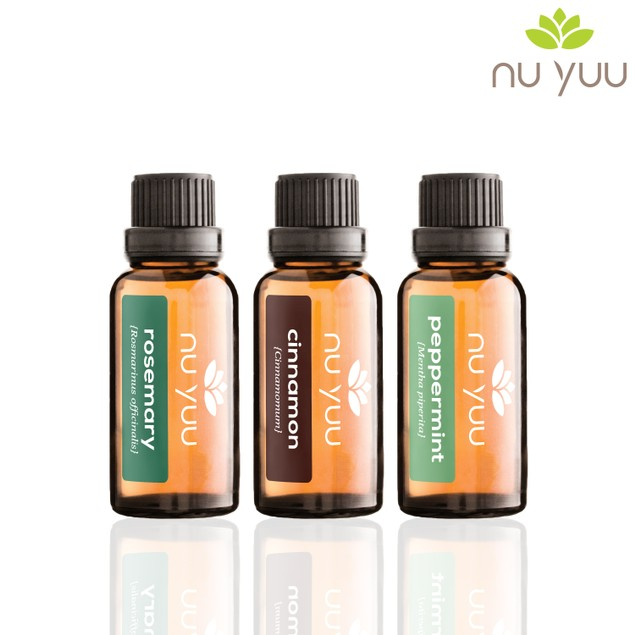 Natural Energy: Cinnamon, Peppermint, Rosemary