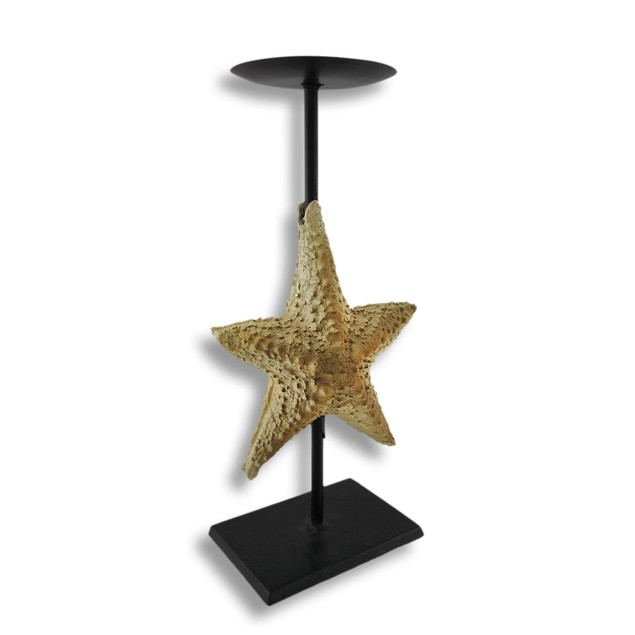 Starfish Pillar Candle Holder Stand Pillar Candle Holders