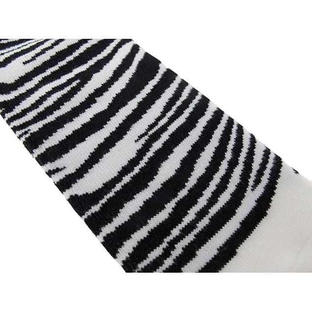 Women`S Ankle Socks Black And White Zebra Stripes Womens Casual Socks