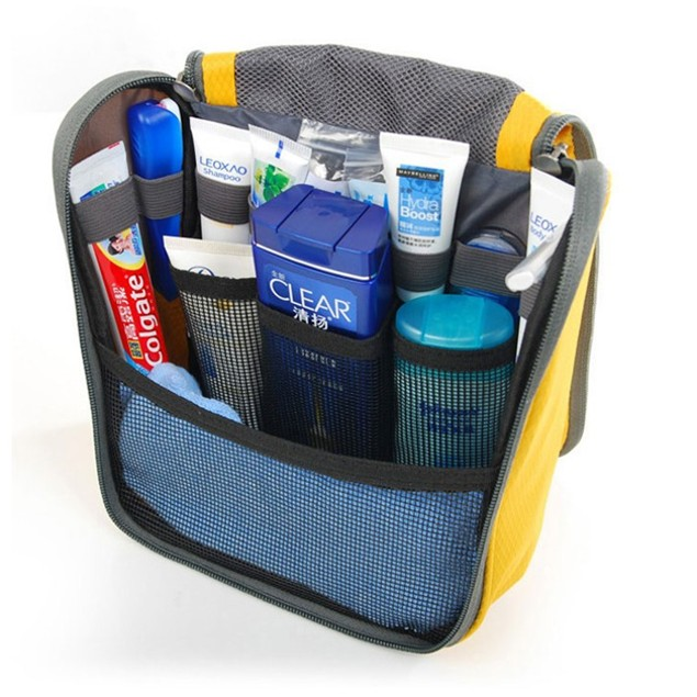 Multi-Pocket Water-Resistant Travel Bag