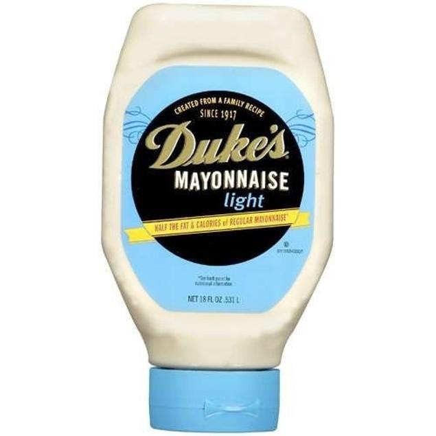 Duke's Light Mayonnaise 18 oz Bottle