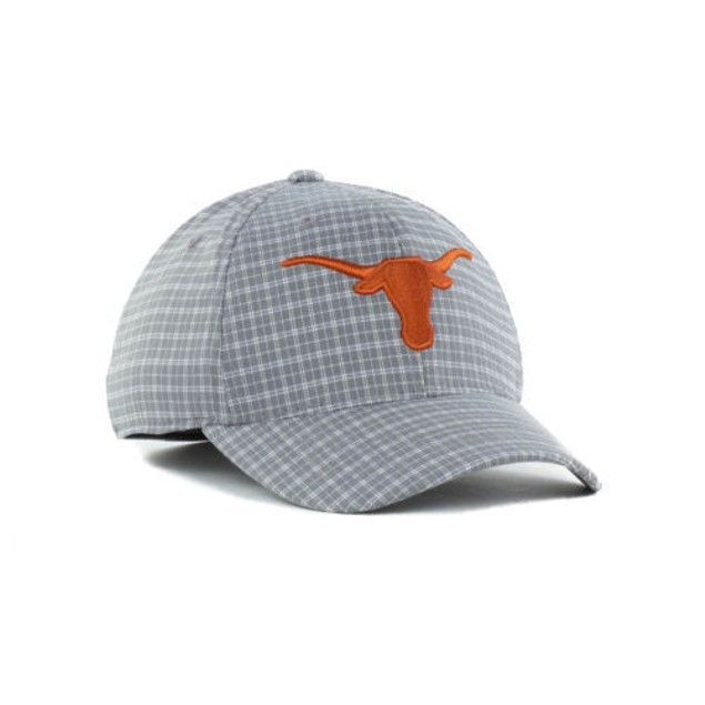 """Texas Longhorns NCAA TOW """"Plaidee"""" Stretch Fitted Hat"""