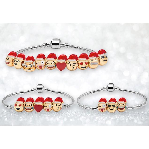Emoji Charm Bracelets - Assorted Styles