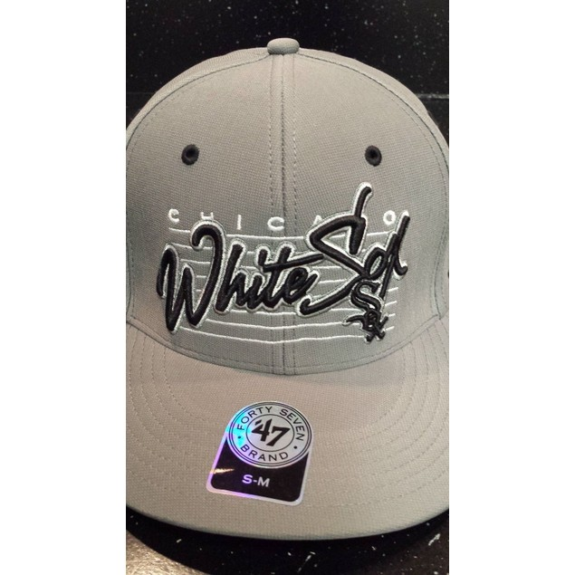"Chicago White Sox MLB 47' Brand ""Fission"" Stretch Fitted Hat"