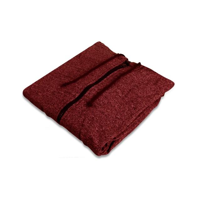 Men's Moisture Wicking Fleece-Lined Full-Zip Up Marled Hoodie (M-2X)