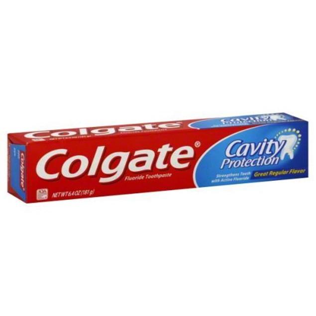 COLGATE CAVITY PROTECTION Regular Flavor Fluoride 6.4oz