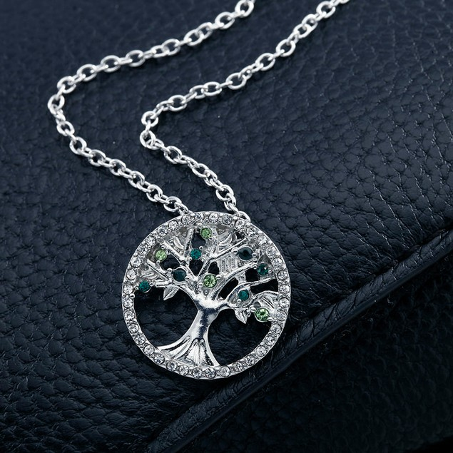 Crystal Tree of Life Necklace