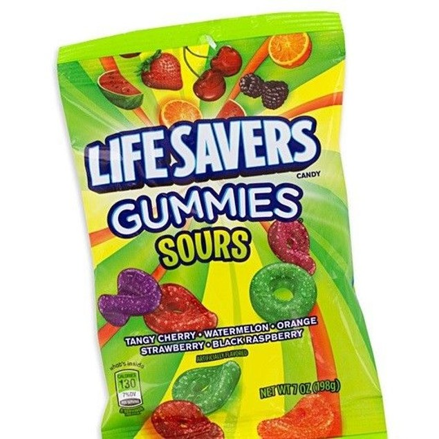 Life Savers Gummies Sour Mix 7 oz Bag