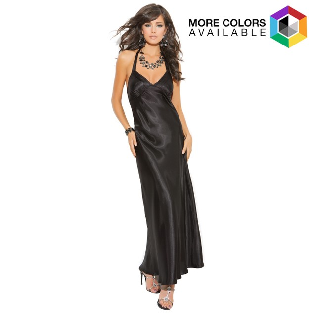 Halter Neck gown
